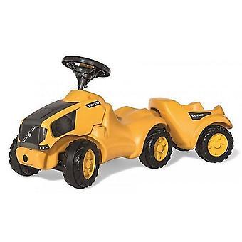 Rolly Toys 132560 RollyMinitrac Volvo gångavstånd traktor + släp