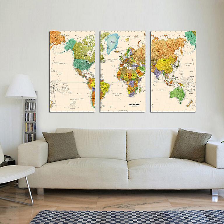Kanvas tavla, karta, 160x90 cm
