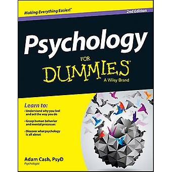 Psychology For Dummies (2nd Revised edition) by Adam Cash - 978111860