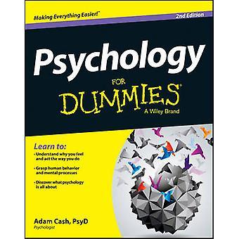 Psychologie für Dummies (2nd Revised Edition) von Adam Cash - 978111860