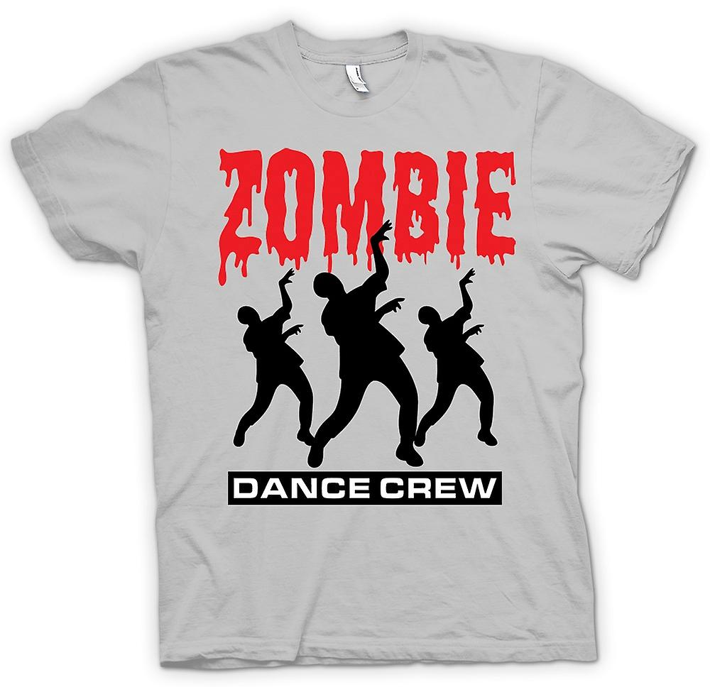 Heren T-shirt - Zombie Dance Crew - grappige Horror