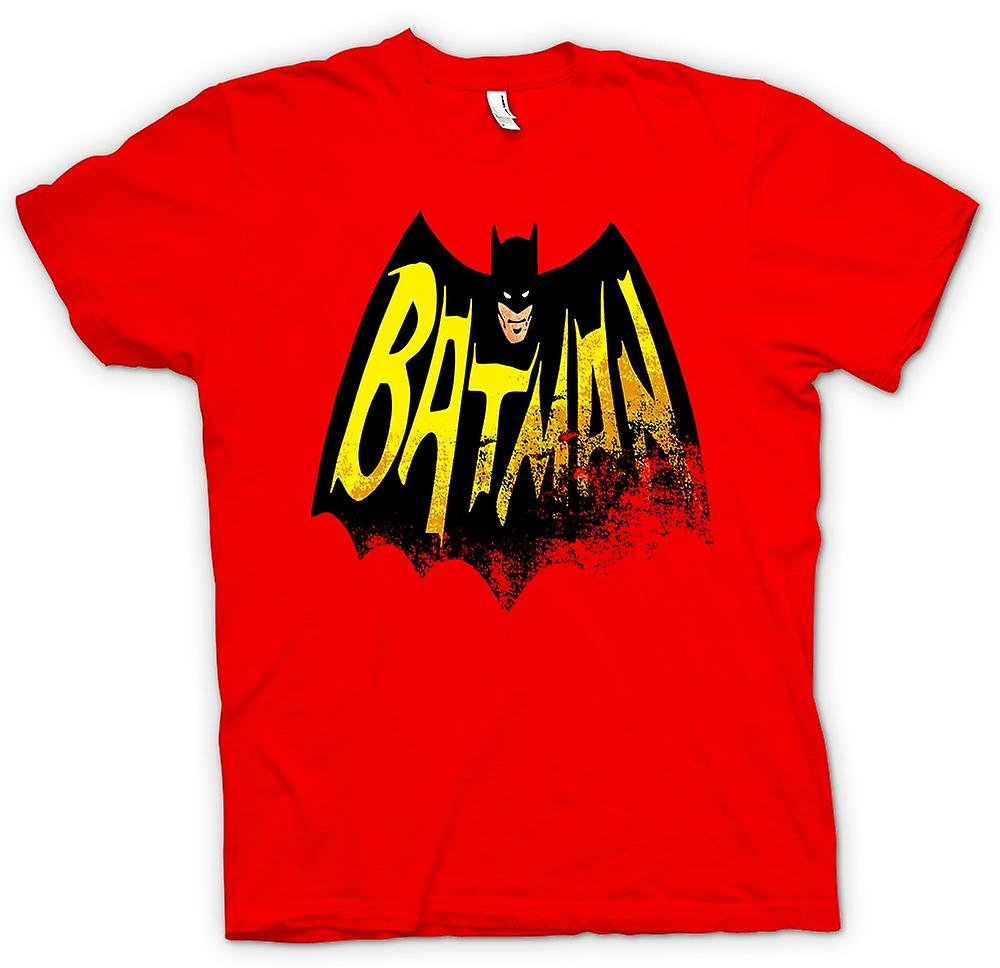 Mens T-shirt - Batmans Cape - Comic hjälte