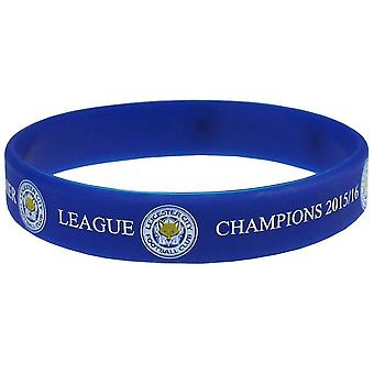 Leicester City FC officiële Champions siliconen armband
