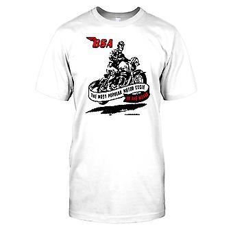 BSA - meest populaire motorfiets ter wereld - klassieke fiets Kids T Shirt