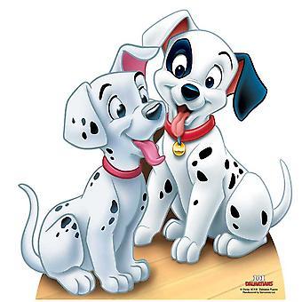Dalmatian Puppies - 101 Dalmatians Lifesize Cardboard Cutout / Standee