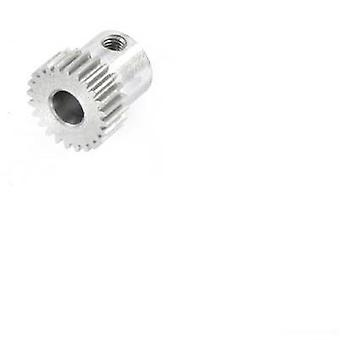 モーターのピニオン Reely モジュール型: 0.5 穴径: 5 mm 号歯の: 24