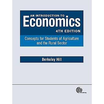 An Introduction to Economics - Concepts pour les étudiants de l'Agriculture une