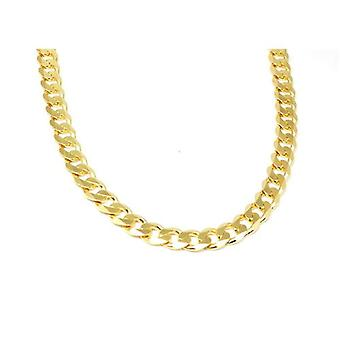 Toc 18 Inch Goltone on Sterling Silver Gents 58.6 Gram Curb Necklace
