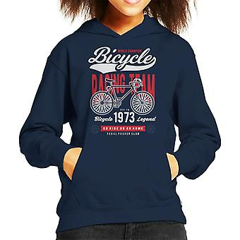 Bicycle Race Team Kid Sweatshirt mit Kapuze