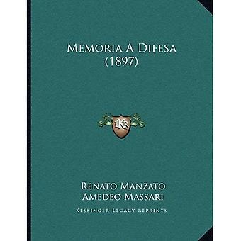 Memoria a Difesa (1897)