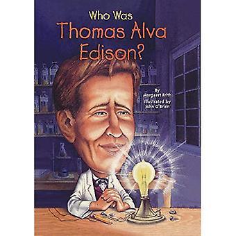 Who Was Thomas Alva Edison? (Who Was...? (PB))