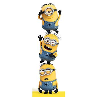 Despicable Me Minions Door Poster