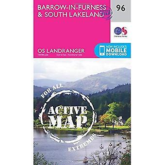 Barrow-In-Furness & South Lakeland (OS Landranger Map)