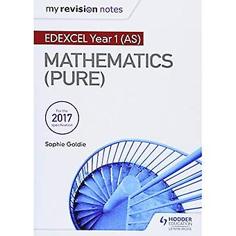 Meine Revision Notizen: Edexcel Jahr 1 (AS) Mathematik (reine)