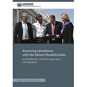 Valutazione della conformità con le regole di Nelson Mandela: un elenco di controllo per i meccanismi di ispezione interna (Criminal Justice manuale serie)