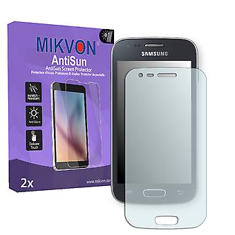 Samsung S7275 Galaxy Ace 3 LTE Screen Protector - Mikvon AntiSun (Retail Package with accessories)