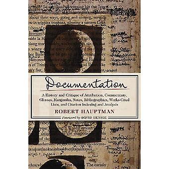 Dokumentation - eine Geschichte und Kritik der Attribution - Kommentar - G