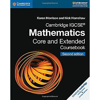 Cambridge IGCSE (R) matematik kerne og udvidede Coursebook af Karen