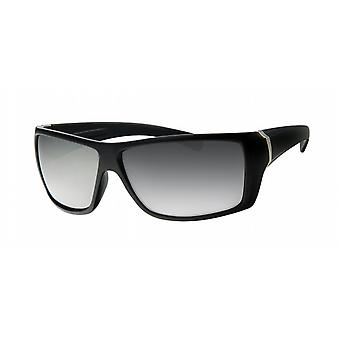 Basics Celebrity Sunglasses - Black/ Chrome