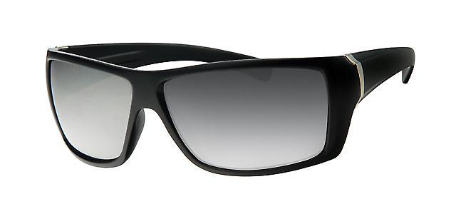 Basics Celebrity Sunglasses - Black/ Chrome