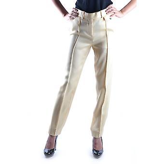 Céline Yellow Wool Pants