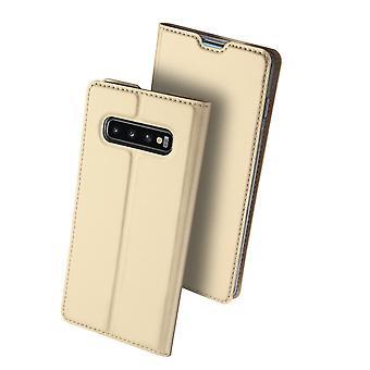 DUX DUCIS Pro Series pouch Samsung Galaxy S10 + Gold