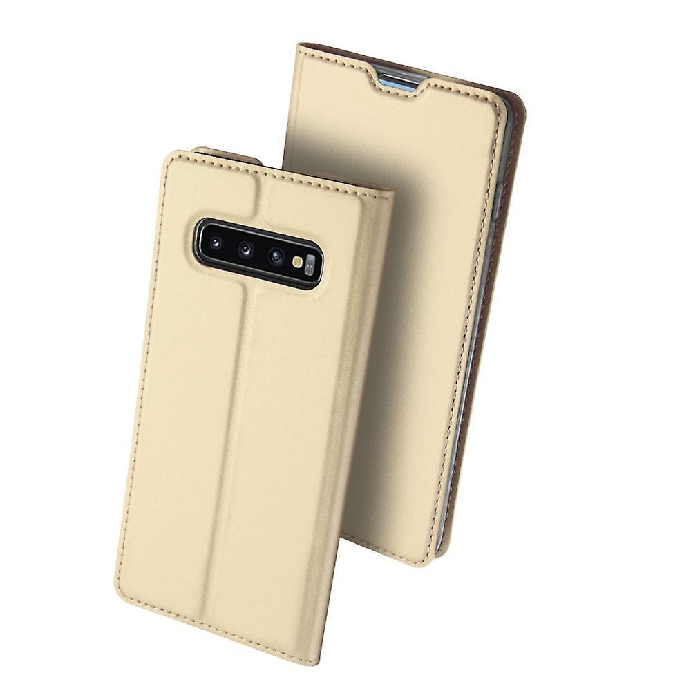 DUX DUCIS Pro Series fodral Samsung Galaxy S10+ - Guld