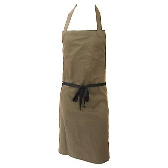 Dennys Unisex Polycotton Bib Workwear Apron Without Pocket (Pack of 2)