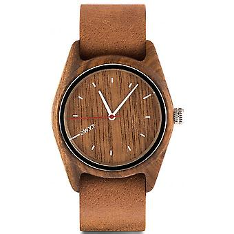 D.W.Y.T DW-00101-5020 - watch Leather Brown wood Brown woman