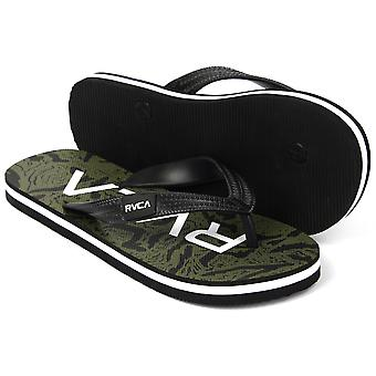 RVCA Mens VA Sport Trench Town Thong Sandals - Camo