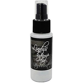 Lindy's Stamp Gang Black Orchid Silver Starburst Spray (ss-063)