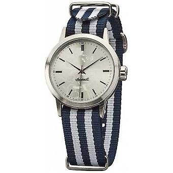 Disney By Ingersoll Unisex Classic Blue White Nylon Strap DIN006SLBL Watch
