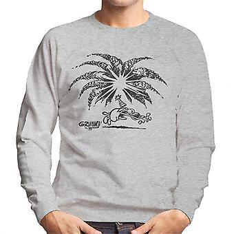 Grimmy Birthday Firework Men's Sweatshirt