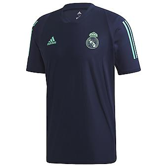 2019-2020 Real Madrid Adidas Training Shirt (Night Indigo)