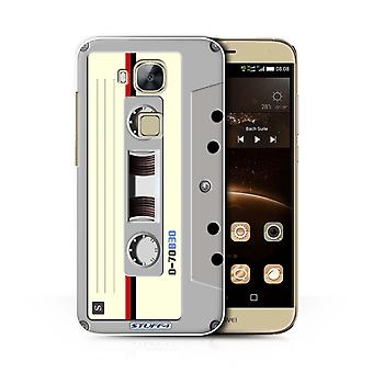 STUFF4 Case/Cover voor Huawei G8/Compact Cassette Tape/Retro Tech