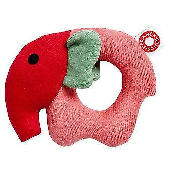 Franck & Fischer Rose elephant rattle (Toys , Preschool , Babies , Early Childhood Toys)