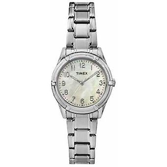 Timex Womans Easton Avenue Pearl Dial stalen band TW2P76000 Watch