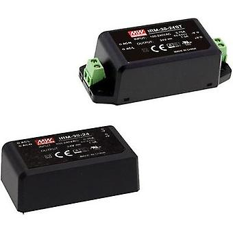 AC/DC PSU (print) Mean Well IRM-30-12ST 12 V 2500 mA