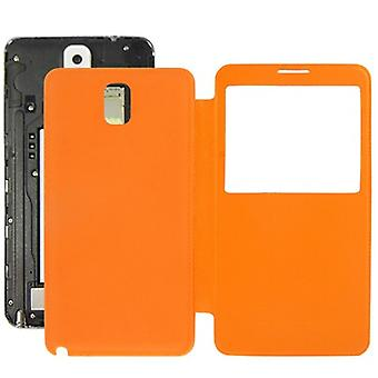 Mobile Shell Pocket flip cover with window for Samsung touch 3 / N9000