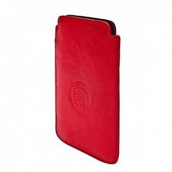 Diesel Hastings New Leather Case for iPhone 4 / 4S in red