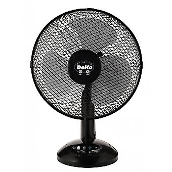 Bureau Fan - Stratos B 306 Black van DEKO