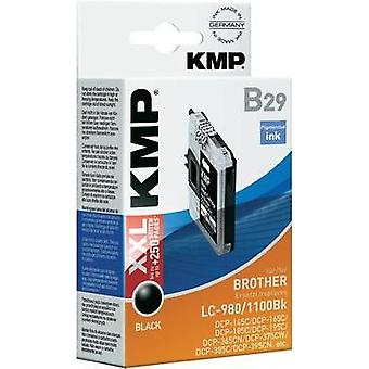 KMP Ink replaced Brother LC-980, LC-1100 Compatible Black B29 (14 ml) 1521,5221