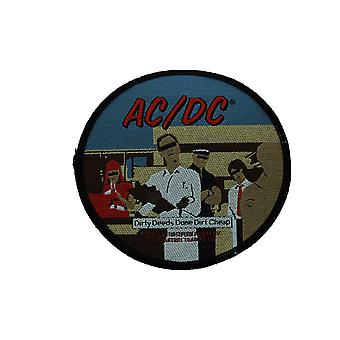 AC/DC Dirty Deeds Woven Patch