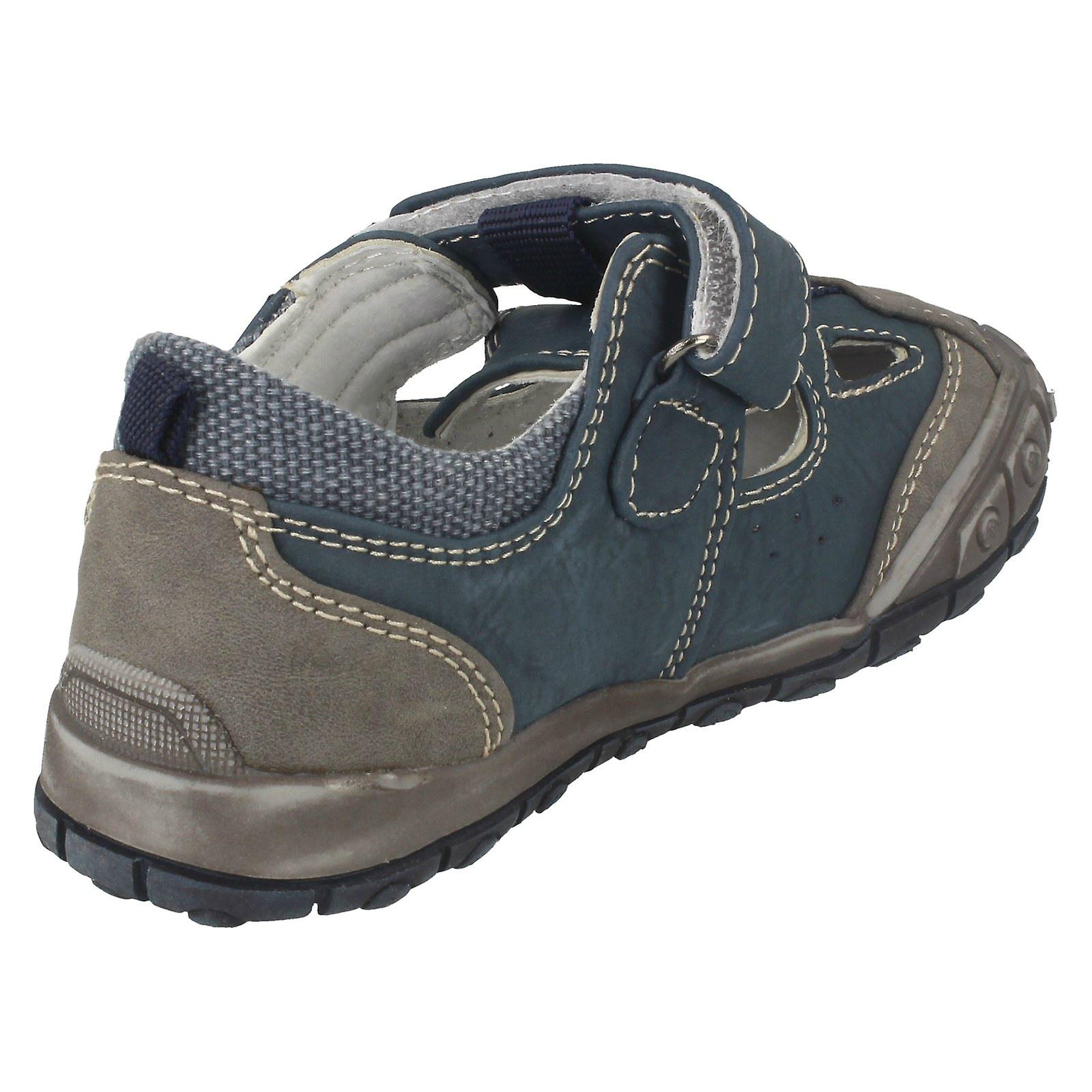 les les les garçons jcdees flat velcro chaussures - n1046 83d52d
