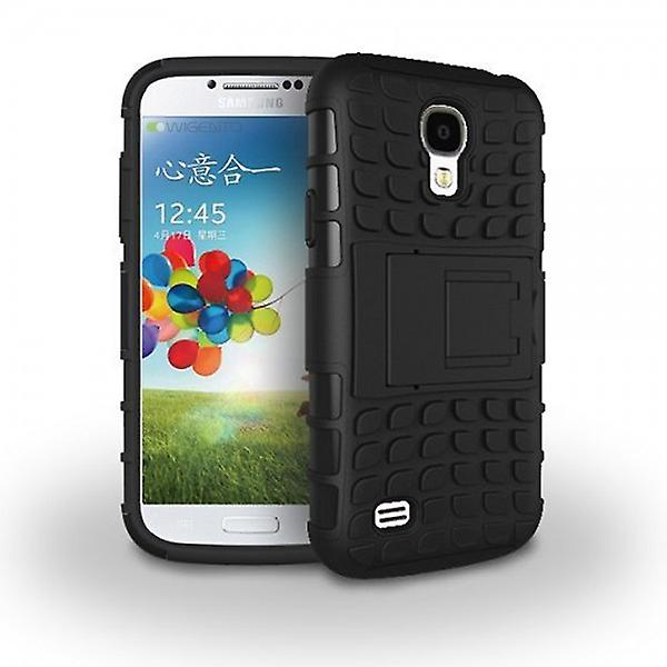 Hybrid case 2 piece SWL robot black for Samsung Galaxy S4 i9500 i9505 LTE