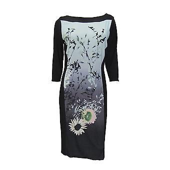 M & S Per Una Floral Print Dress DR649-8