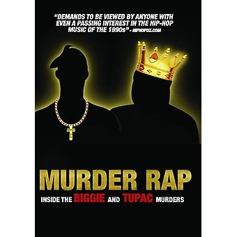 Murder Rap: Inside the Biggie & Tupac Murders [DVD] USA import