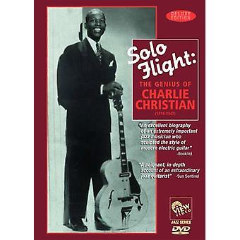 Charlie Christian - Solo Flight-Genius af Charlie Christian [DVD] USA importerer