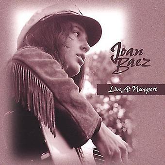 Joan Baez - en vivo en importación de EEUU Newport [CD]