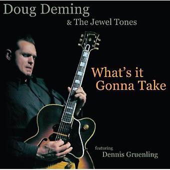Doug Deming & juvel toner - hvad er det gonna tage [CD] USA import
